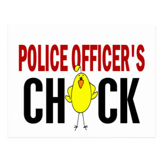 Police Officer's Chick 1 Postcard