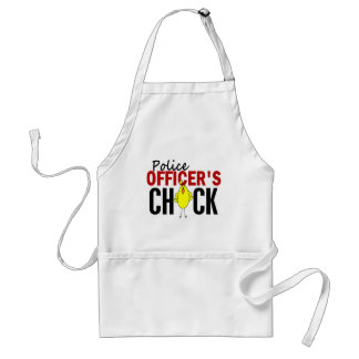 POLICE OFFICER'S CHICK ADULT APRON