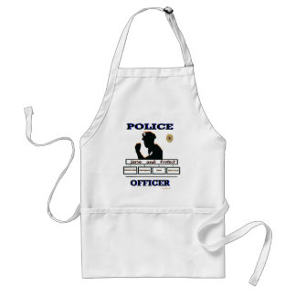 Police_Officer_Serve_Protect Adult Apron