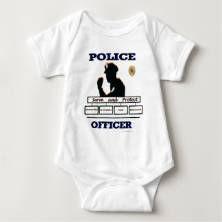 Police_Officer_Serve_Protect Baby Bodysuit