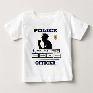 Police_Officer_Serve_Protect Baby T-Shirt