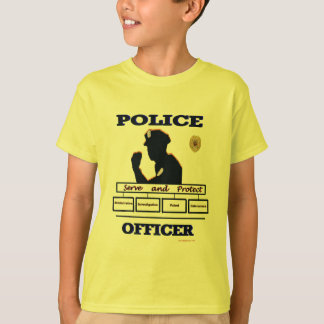 Police_Officer_Serve_Protect T-Shirt