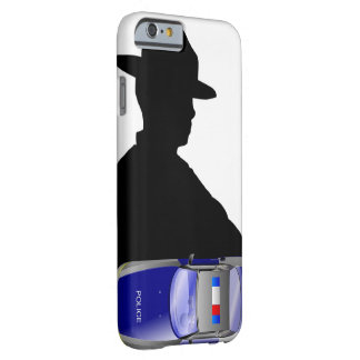 Police Officer Sirens Medical Emergency Policemen Barely There iPhone 6 Case