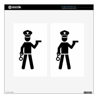 Police Officer Skin For Kindle Fire