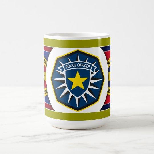 Police Officer Star Coffee Mug