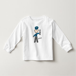 Police Officer Stick Figure Shirt
