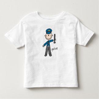 Police Officer Stick Figure T Shirt