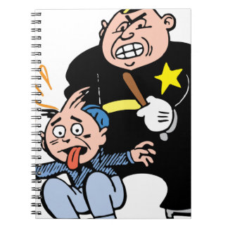 Police Officer & Suspect Notebook