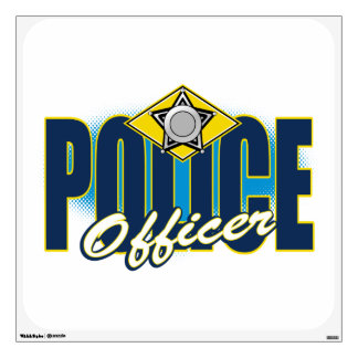 Police Officer Wall Decal