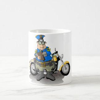 Police Officer Writing A Ticket Mug