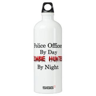 Police Officer/Zombie Hunter Aluminum Water Bottle