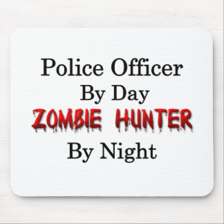Police Officer/Zombie Hunter Mouse Pad