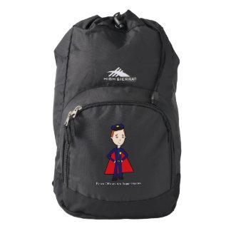 Police Officers Are Super Heroes (Male) High Sierra Backpack
