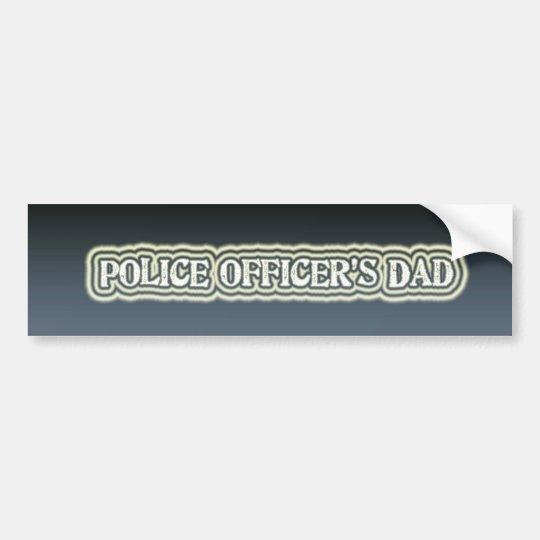 Police Officer's Dad Bumper Sticker