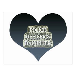 Police Officer's Daughter Postcard