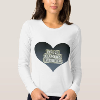 Police Officer's Daughter Tee Shirt