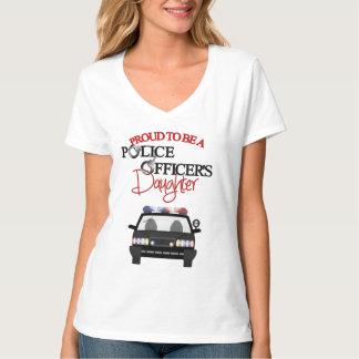 Police Officer's Daughter Women's V-Neck T-Shirt