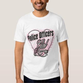 Police Officers Girl Tee Shirt