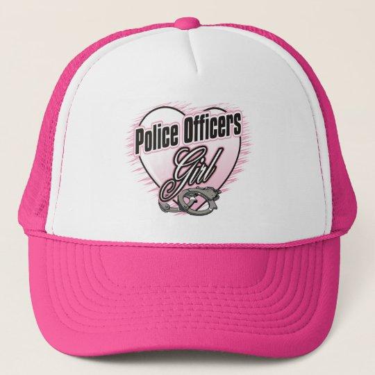 Police Officers Girl Trucker Hat