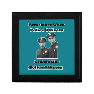 Police Officers Jewelry Box