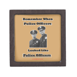 Police Officers Keepsake Box