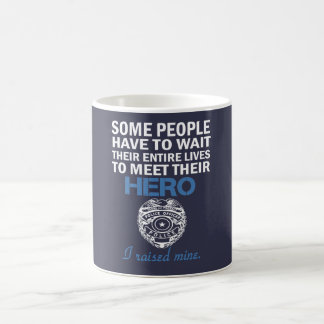 Police Officer's Mom Coffee Mug