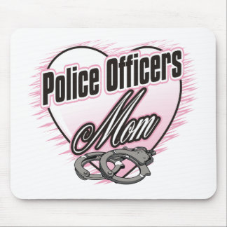 Police Officers Mom Mouse Pad