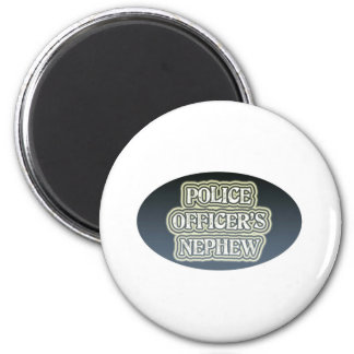Police Officer's Nephew Magnet