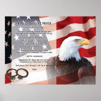 Police Officers Prayer Print