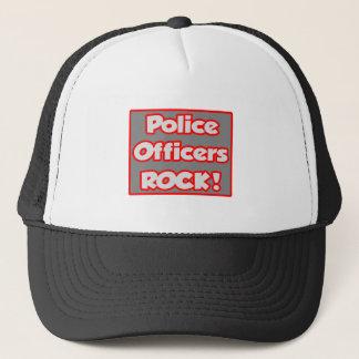 Police Officers Rock! Trucker Hat
