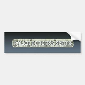 Police Officer's Sister Bumper Sticker