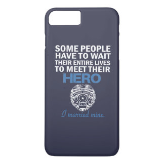 Police Officer's Wife iPhone 7 Plus Case