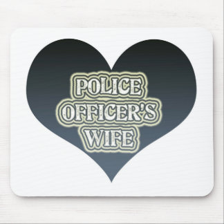 Police Officer's Wife Mouse Pad