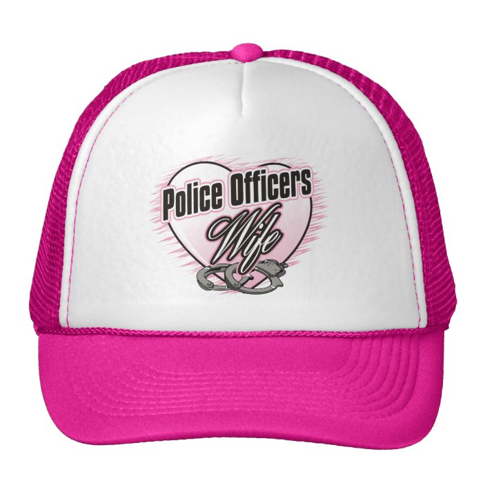 Police Officers Wife Trucker Hat