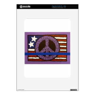 Police Peace Sign. Skin For iPad