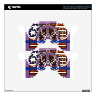 Police Peace Sign. Skins For PS3 Controllers