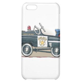 Police Pedal Car Cop Car Cover iPhone 5C Cases