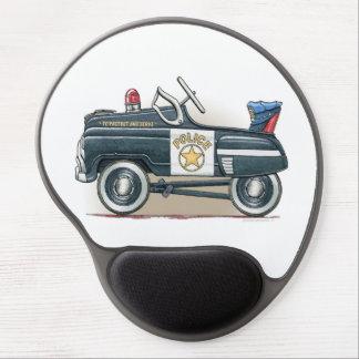Police Pedal Car Cop Car Gel Mouse Pad