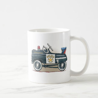 Police Pedal Car Cop Car Mug