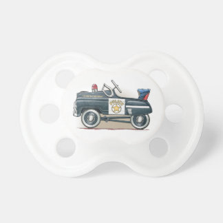 Police Pedal Car Cop Car Pacifier