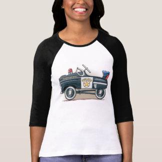Police Pedal Car Cop Car T-Shirt