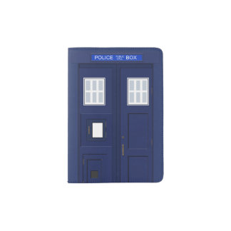 Police Phone Call Box British Vintage Passport Holder