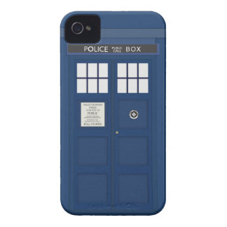 Police Phone Call box iPhone 4S cover Case-Mate iPhone 4 Cases