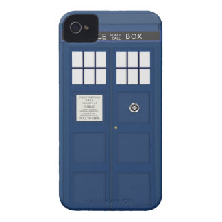 Police Phone Call box iPhone 4S cover iPhone 4 Case-Mate Cases