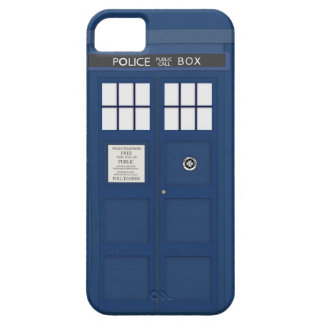Police Phone Call box iPhone 5S cover