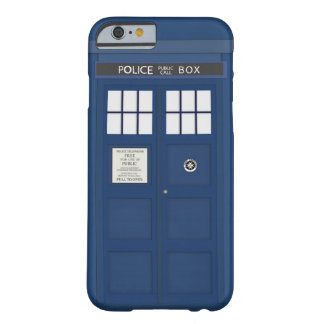 Police Phone Call box iPhone 6 case cover