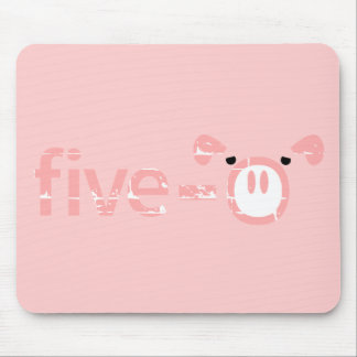 Police Pigs Five-0 Mouse Pad