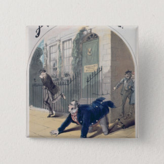 Police! Police! Song Book Cover, c.1865 Pinback Button