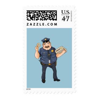 police postage