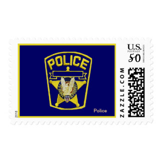 Police Postage Stamp